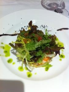 prawn 'salad'