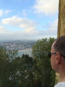 His first 'dawn' in San Sebastian